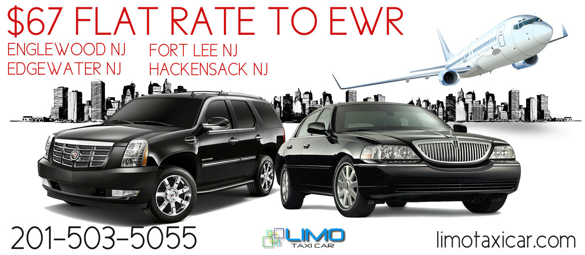 67$ flat rate to newark airport